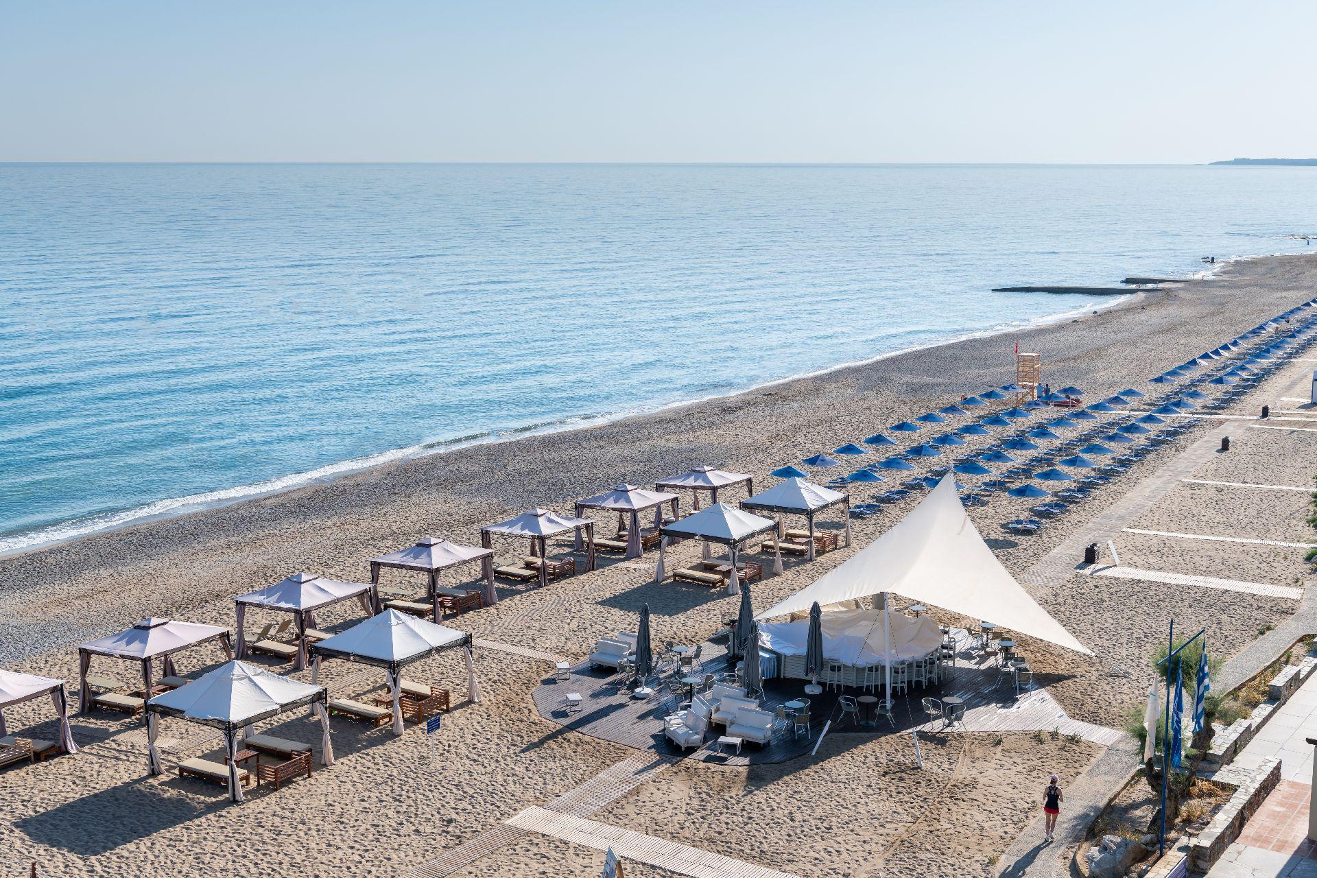 Luxury hotels in Crete Rithymna Beach