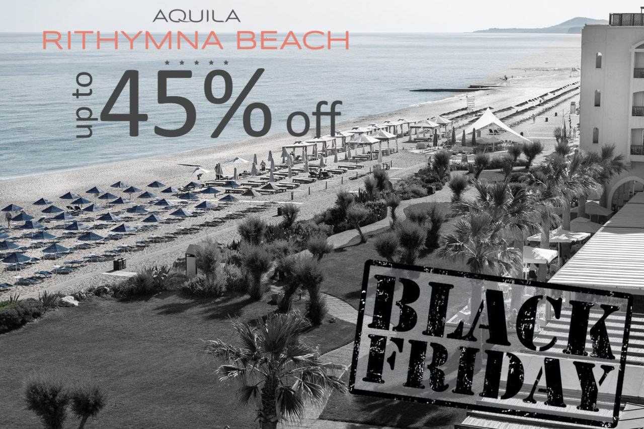 Rithymna Beach Black Friday